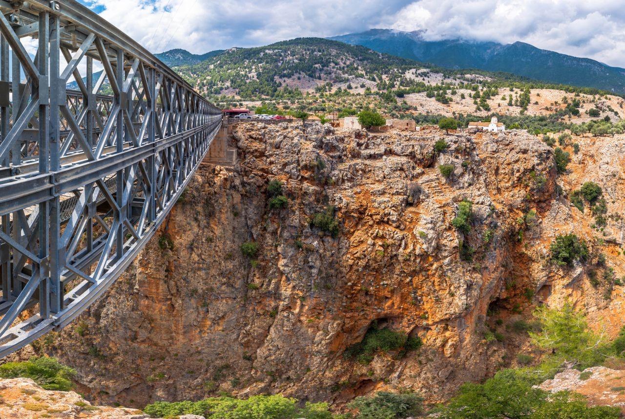 Bungee Jumping in Crete from Aradena Bridge