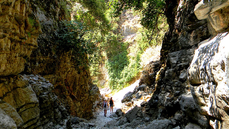 Hiking in The Gorge of the Dead